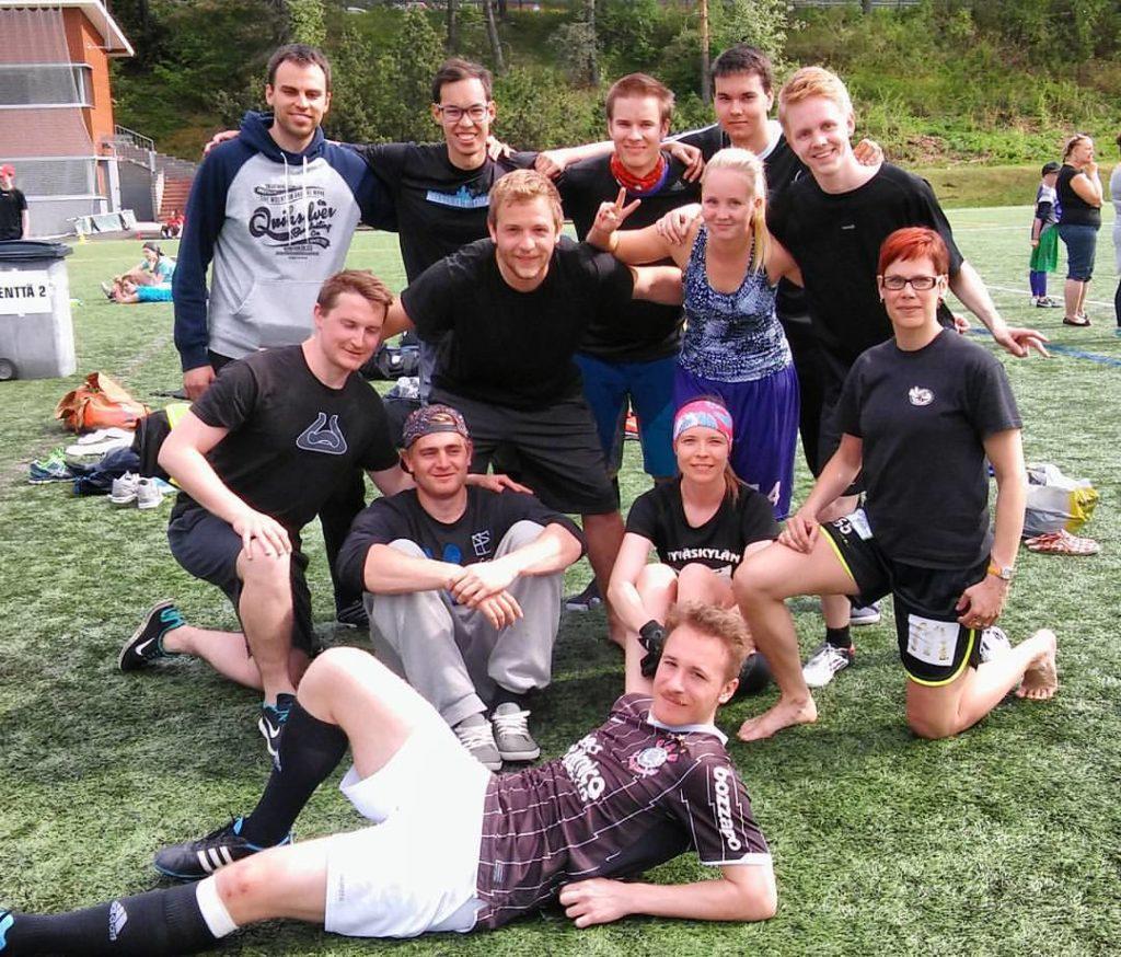 ERHe Ultimate at Jyväskylä Summer Start 2016