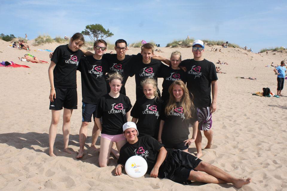 ERHe Ultimate at Yyteri Beach Ulltimate 2012